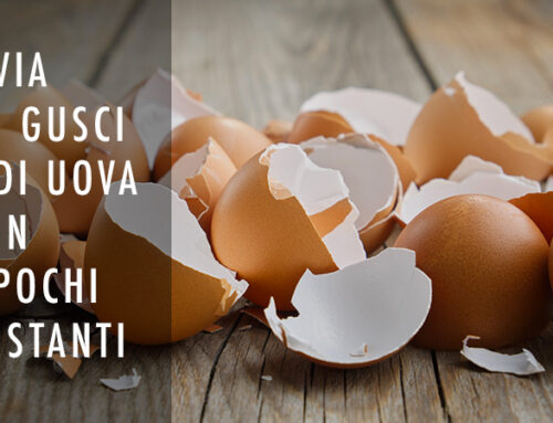 Liberarsi dai gusci di uovo in pochi secondi!